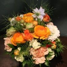 arrangement オレンジ・ビビット 4000円税抜